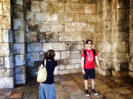 Just inside the Jafa Gate - June 2014