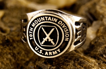 Ring - 10th Mountain Division
